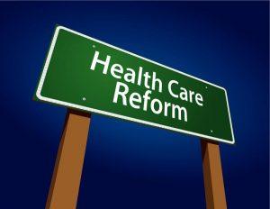 bigstockphoto_health_care_reform_green_road__5632944