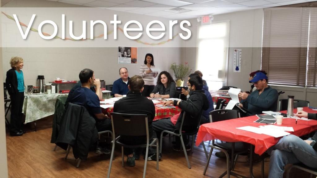 Volunteer Training – Fall 2015