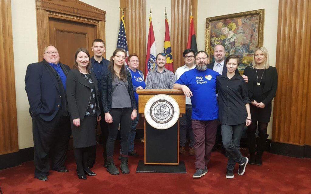 Bilingual International Supporting St. Louis-Samara LGBTQ Human Rights Exchange