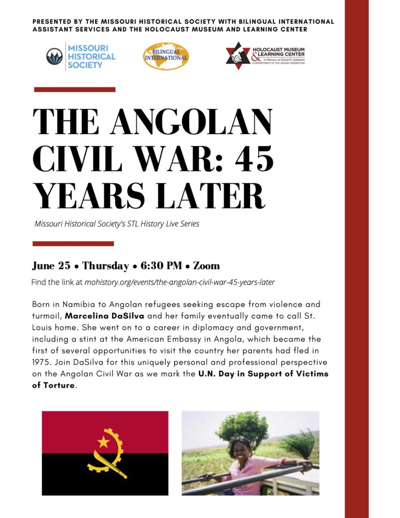 The Angolan Civil War: 45 Years Later – June 25, 2020